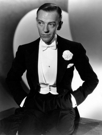 Fred Astaire! The dancing genius!