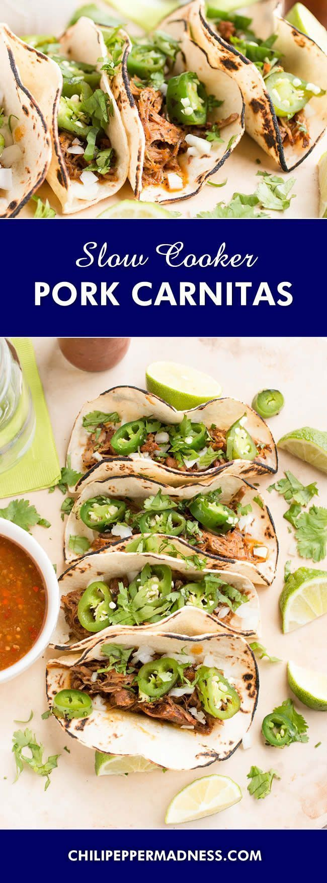 Photo of Slow Cooker Pork Carnitas (Crispy Mexican Pul