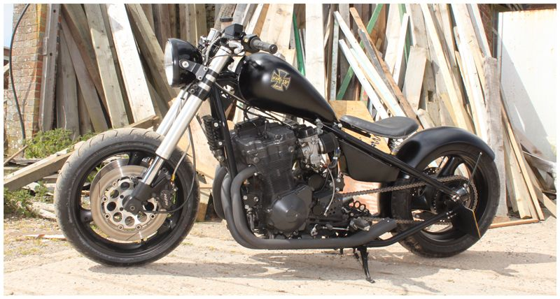 Shaft Drive Chopper : Slingshot would love this with foward controls