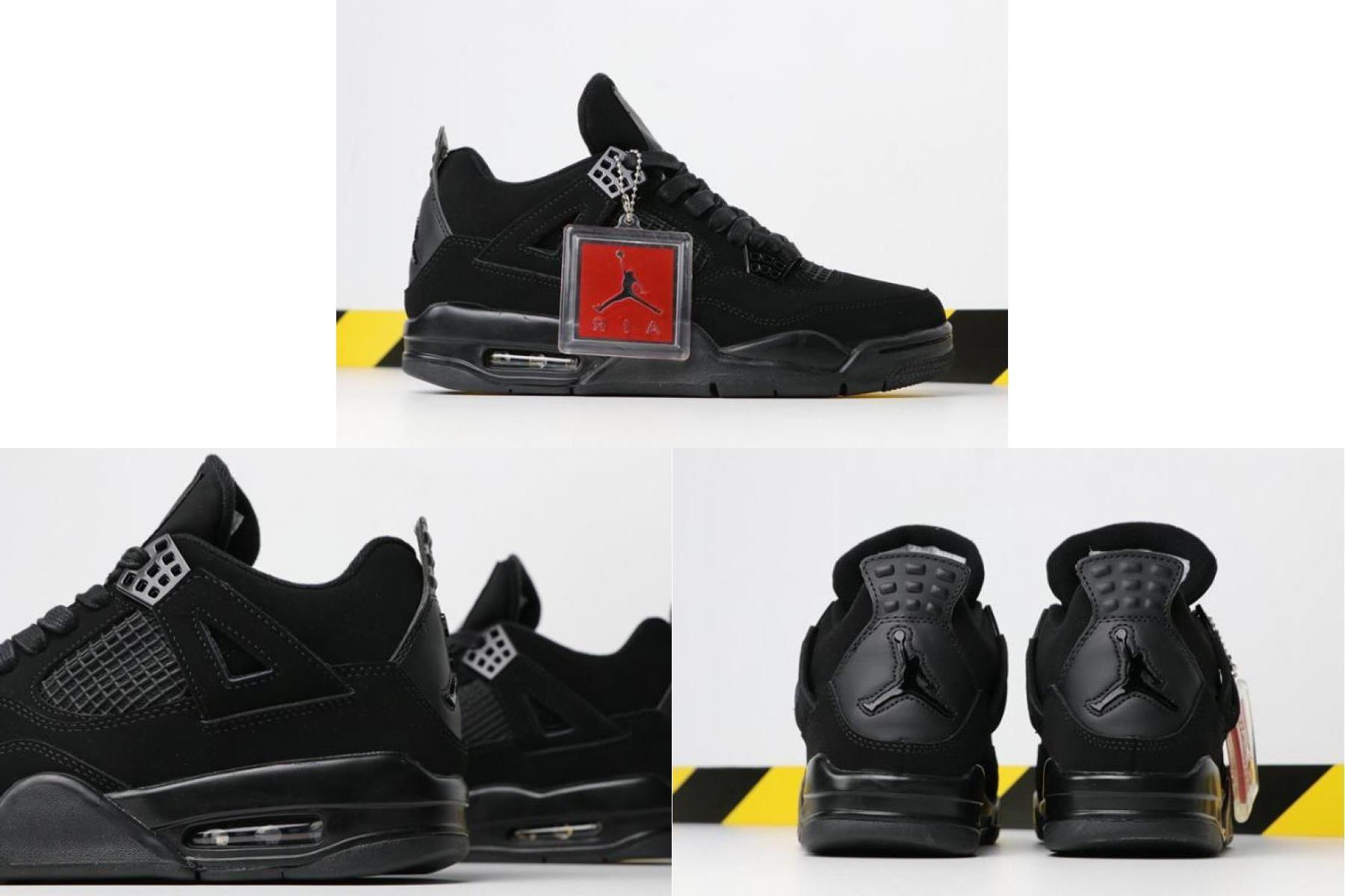 "2020 的 Air Jordan 4 ""black Cat"" 308497002 For 主题"