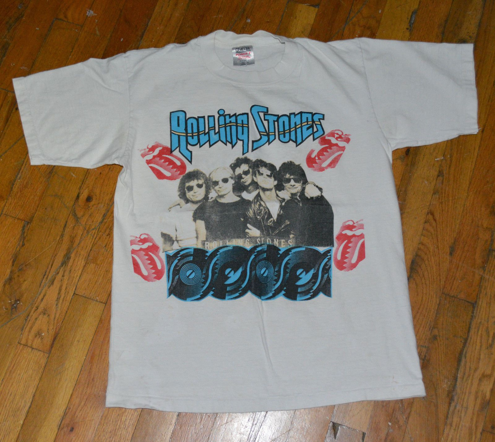 Vintage Crazy Pattern Shirt unisex M Boho Hippie Shirt Rare Original 80s 90s