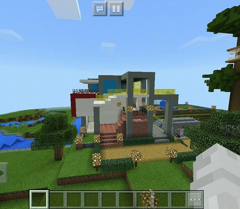 Minecraft Modern House Ide Ide Untuk Rumah