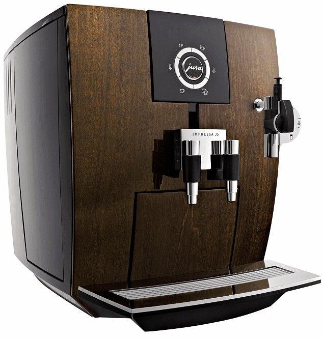 Coffee-maker with a better class of morning grind #juraimpressa