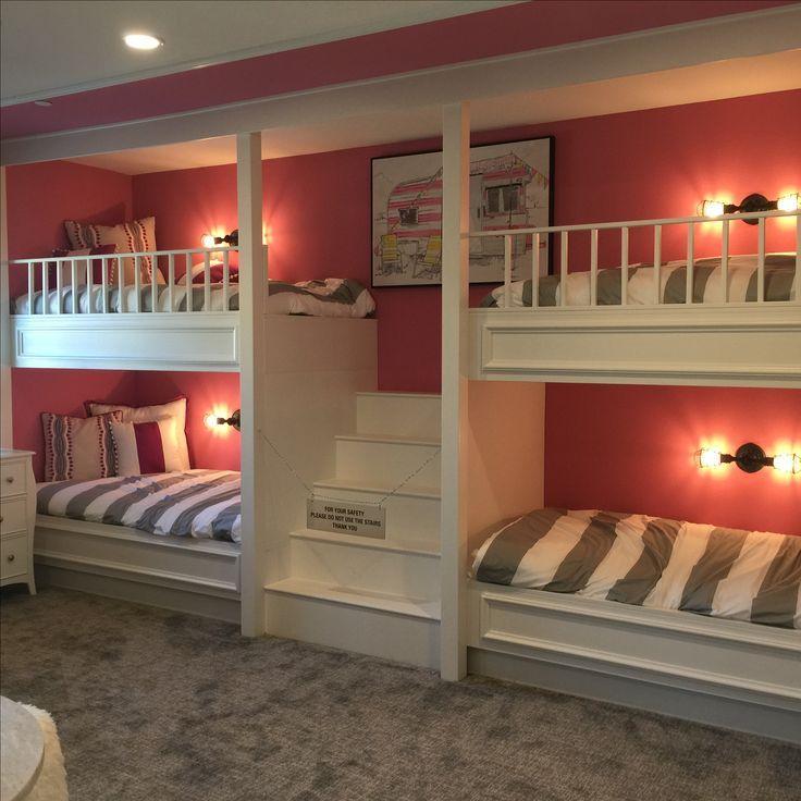 Space Saving Tips Kids In A Small Bedroom Dream Bedrooms Bunk Beds Built In Bunk Bed Rooms Cool Bunk Beds