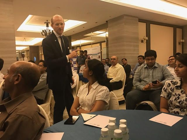 What a great audience in #India at my Quantamental #Investing Across the World seminar for India CFA Society: https://goo.gl/yHTlvq