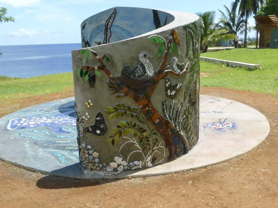 Theres A New Work Of Art On Christmas Island And This Time Its