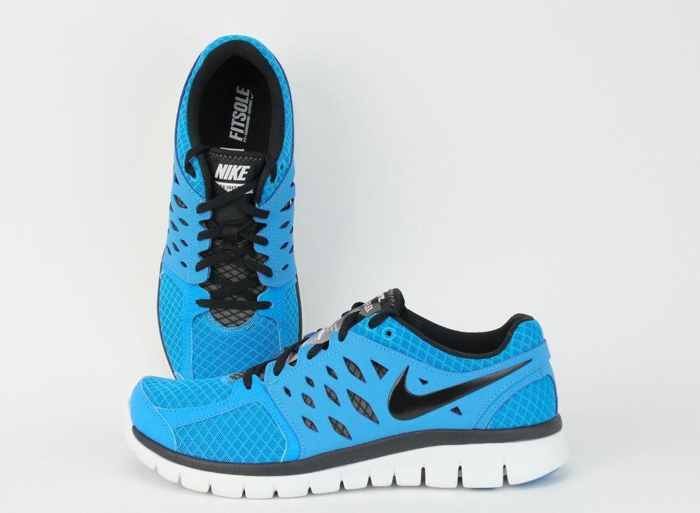 2adbe202b9c6 NIKE Flex 2013 Run Vivid Blue  Black  White Running Training 579821-405  SALE  Nike  RunningCrossTraining
