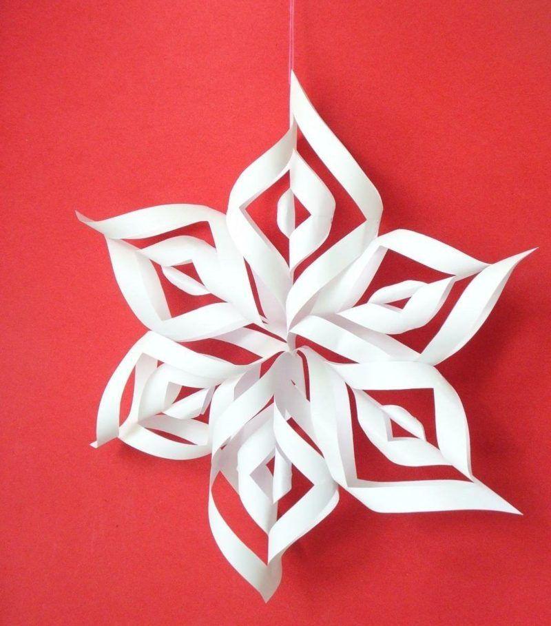 papier stern basteln eine schnelle idee zu weihnachten. Black Bedroom Furniture Sets. Home Design Ideas