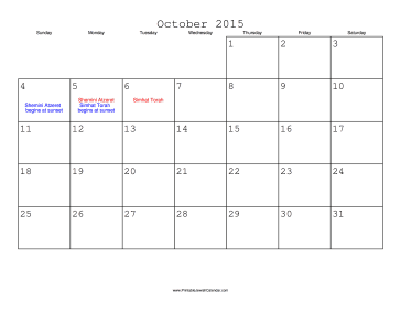 October  Calendar Of Events  In This Post WeRe Sharing