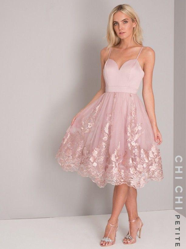 Chi Chi Petite Elise Dress Dresses Fashion Dresses Lace Dress