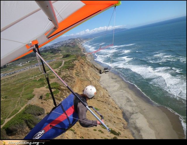 Hang gliding - Just as safe as tennis, even safer than canoeing