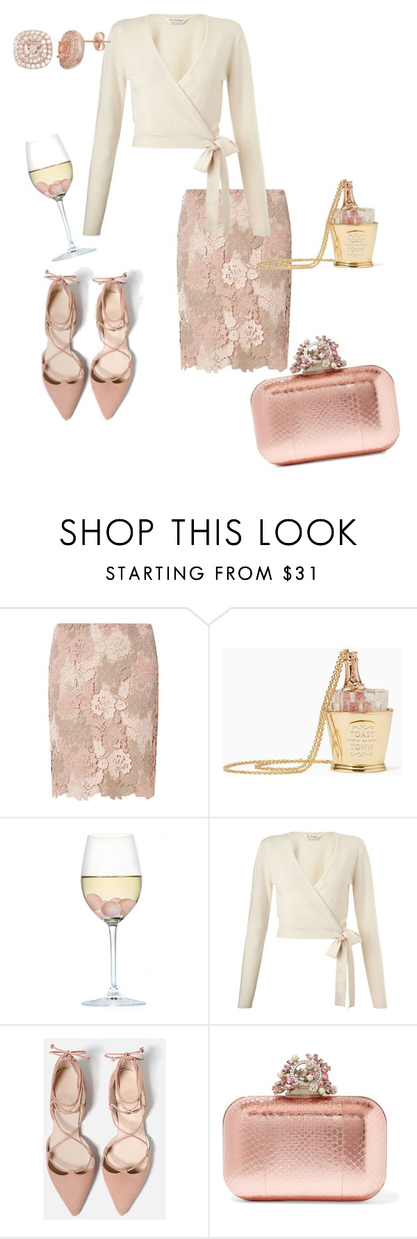 """""""Pretty rose"""" by aconner813 on Polyvore featuring Dorothy Perkins, Kate Spade, RabLabs, Miss Selfridge and Jimmy Choo"""