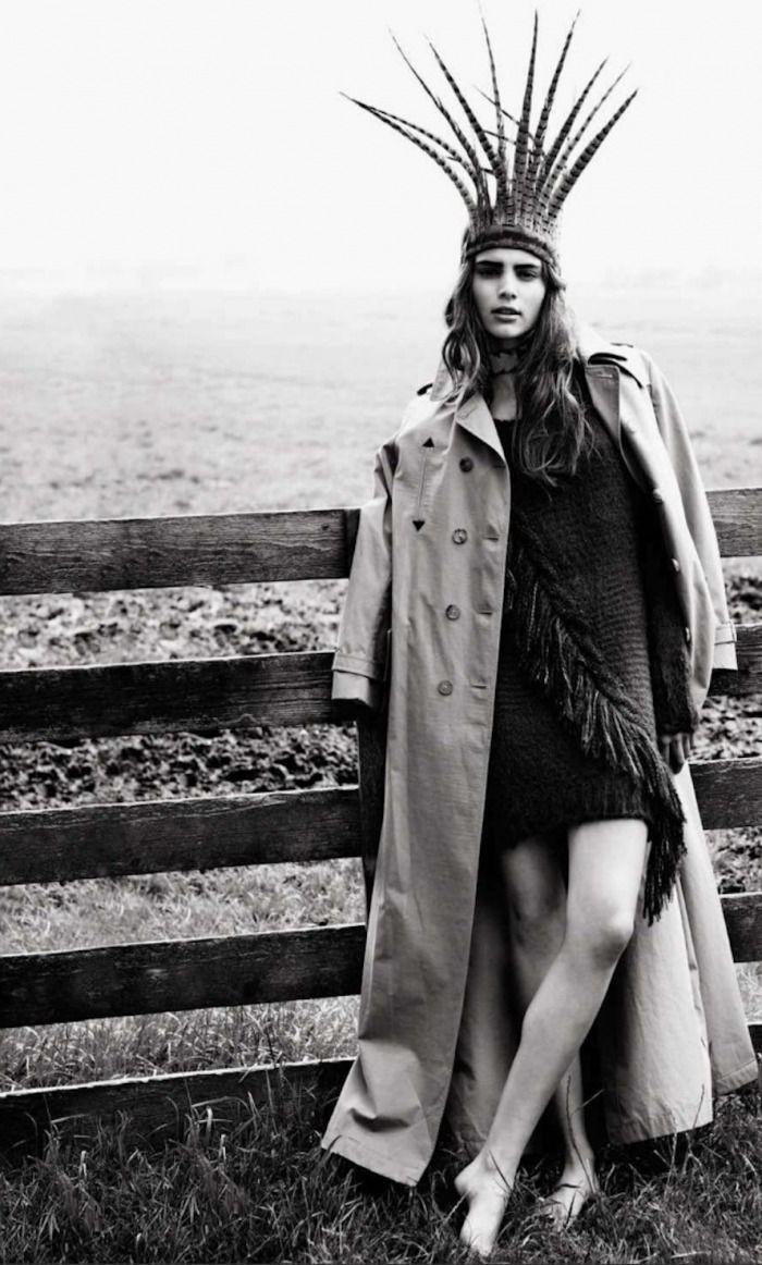 'New Apache'   Romy Schönberger By Paul Bellaart For Glamour Spain  