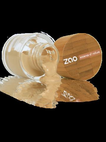 Zao Organic Makeup Vegan Refillable Liquid Silk Foundation