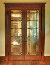 Glass Pocket Doors Arts And Crafts Style Privacy Glass French Doors Glass Pocket Doors French Doors Interior