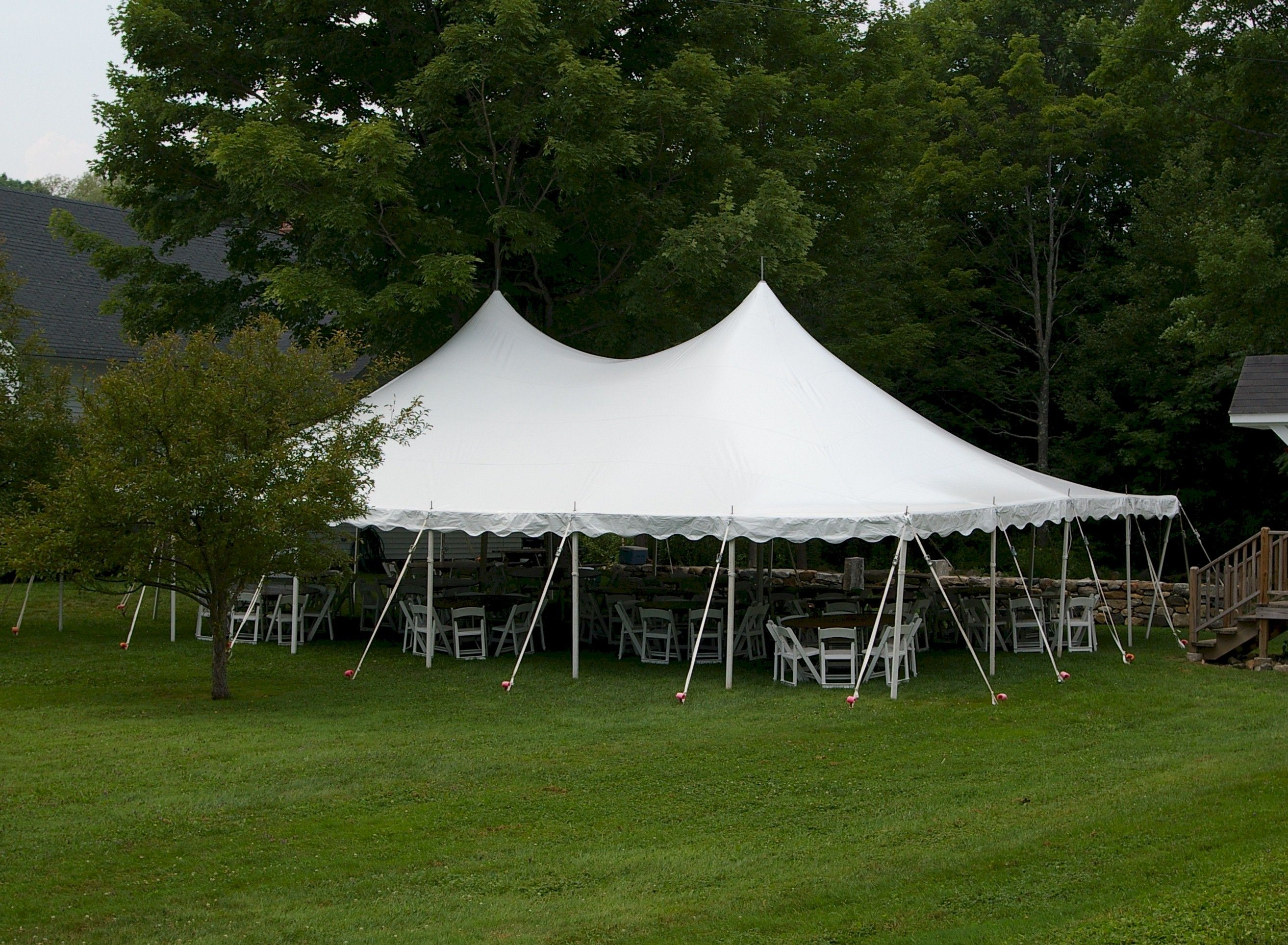 30x45 Pole Tent This Is Media G K Rental Tent Rentals Canopy Tent Outdoor Event Rental