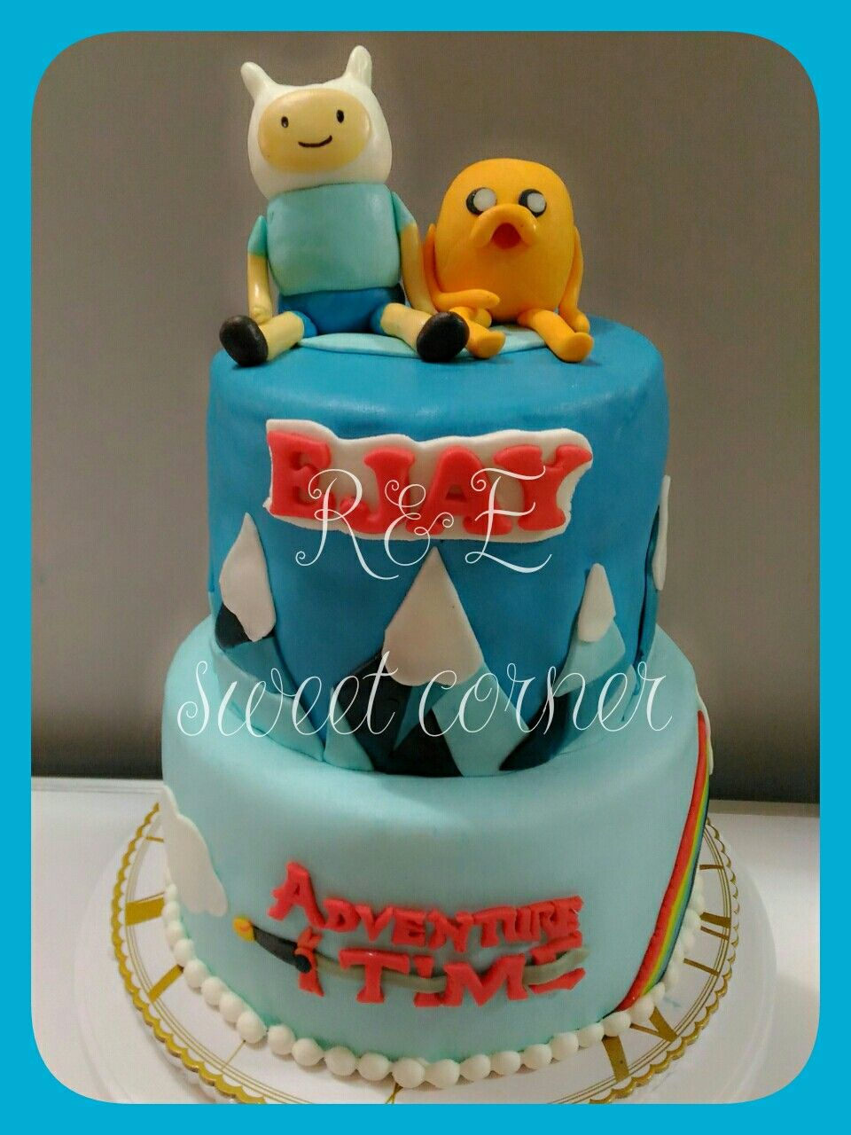 Adventure Time Birthday Cake R E Sweet Corner S Cakes Pinterest