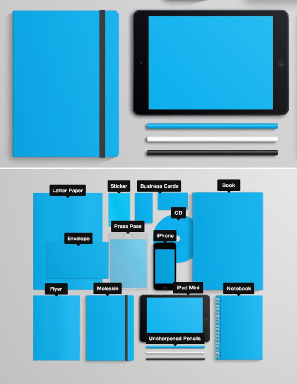 20 Free Branding and Identity Mockup Templates (With