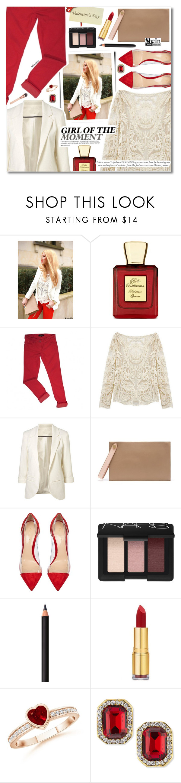 """""""Girl Of The Moment"""" by talukder ❤ liked on Polyvore featuring Bella Bellissima, Isabel Marant, Mulberry, Gianvito Rossi, NARS Cosmetics, INIKA, Isaac Mizrahi, Kenneth Jay Lane, women's clothing and women"""