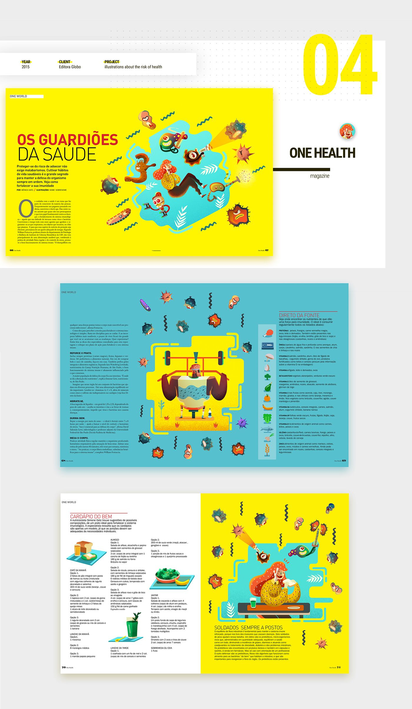 Here I Present Some Projects Of Editorial Design