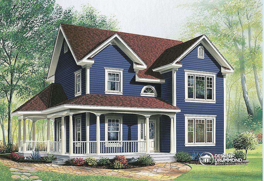 Détail du plan de Maison unifamiliale W2741 Pour futur maison