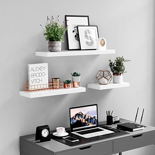 Decorative Floating Shelf Set Floating Shelf In 2020 Shelf Decor Bedroom Shelf Decor Living Room Wall Shelf Decor