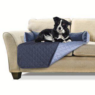 Swell Furhaven Sofa Buddy Pet Bed Furniture Cover Small Frankydiablos Diy Chair Ideas Frankydiabloscom