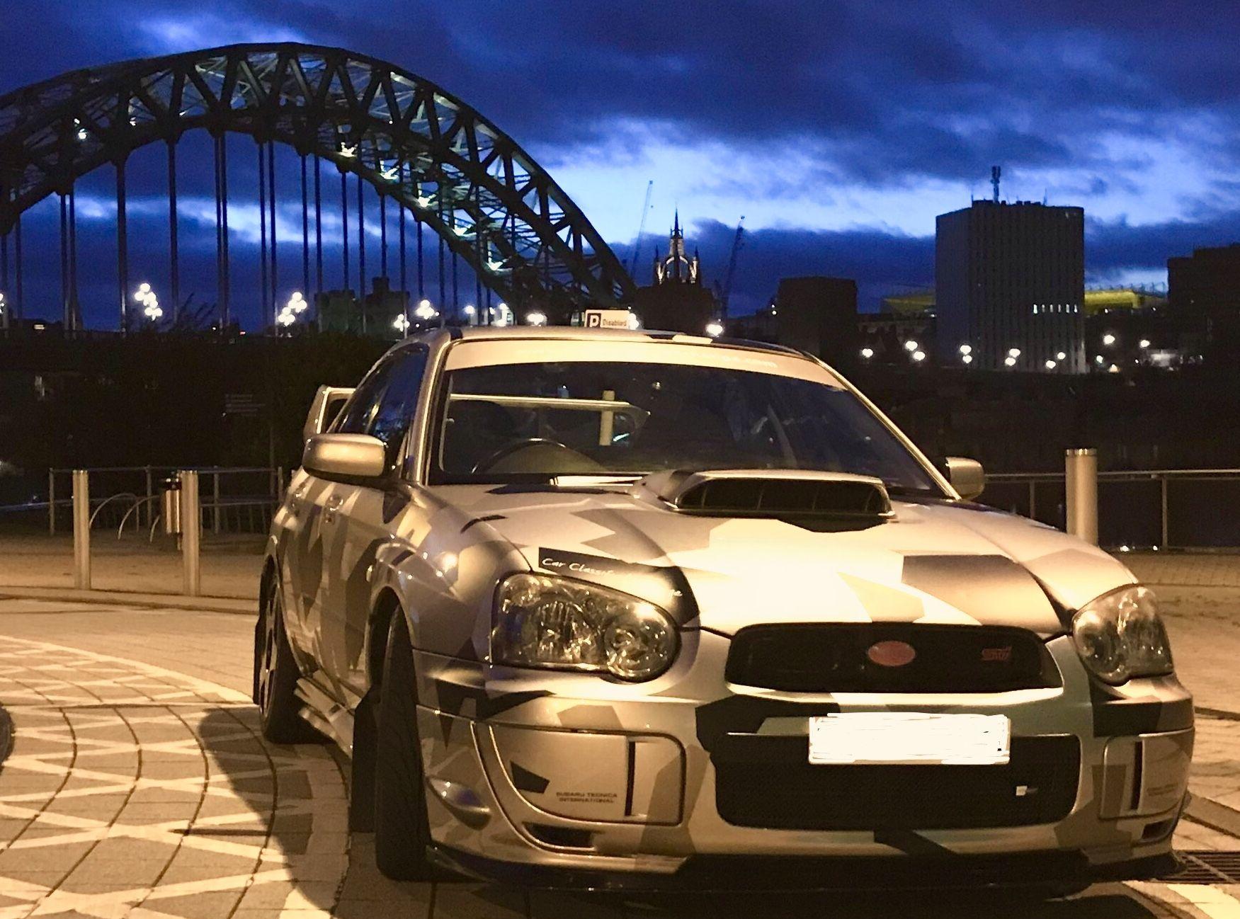 Tyne bridge Newcastle Subaru Impreza STi Camo | Subaru,my previous love