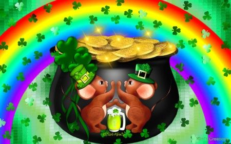 St Patricks Day Wallpaper Rainbow