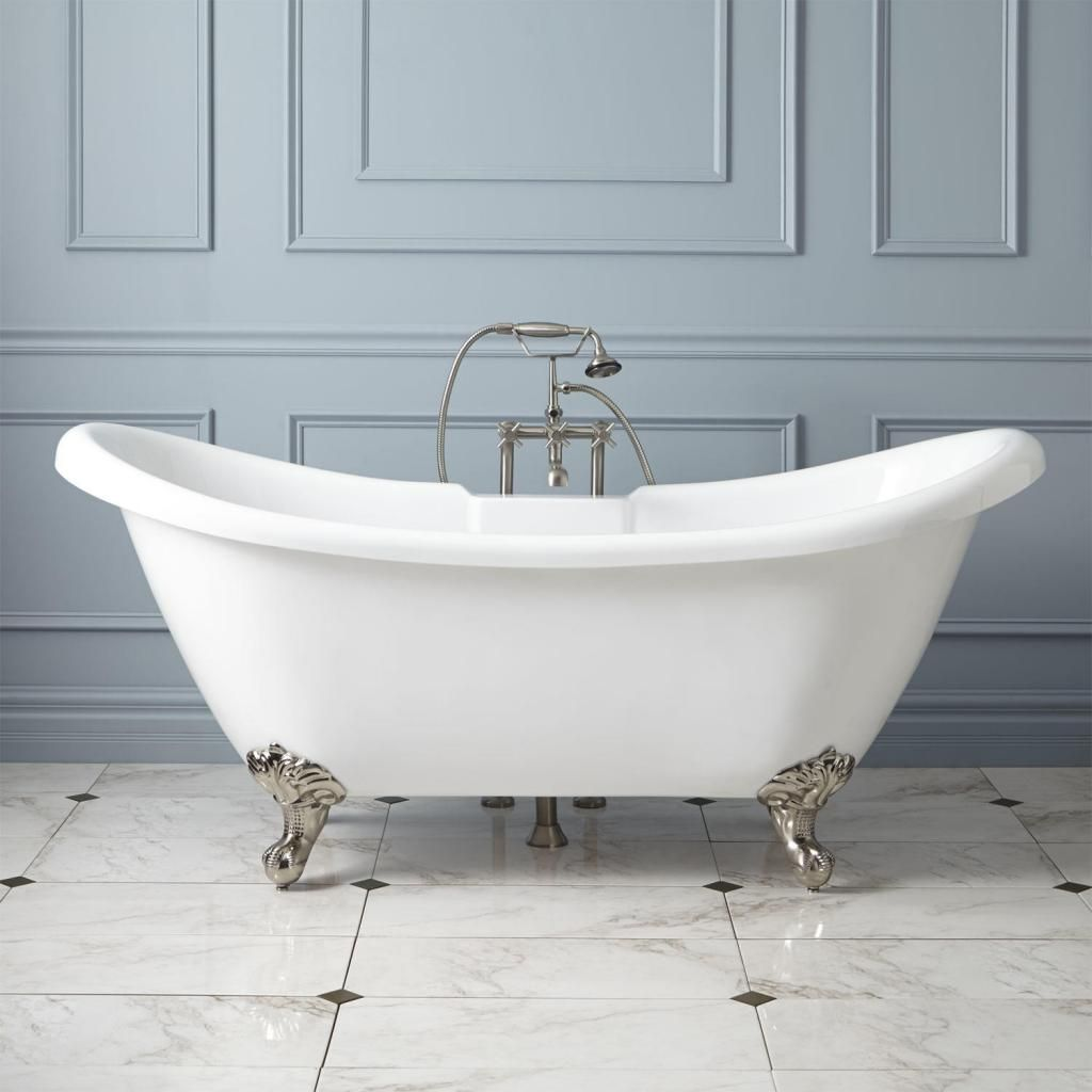 50 Wonderful Freestanding Bathtubs | Clawfoot bathtub, Bathtubs and Bath