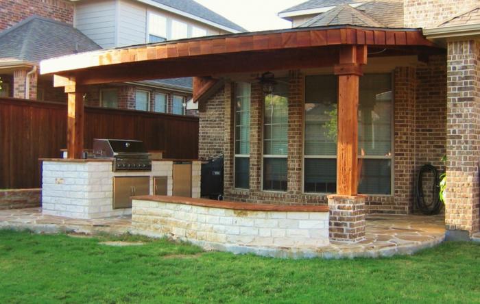 Außenküche Für Terrasse : Überdachung terrasse beispiele wie sie ihre terrasse
