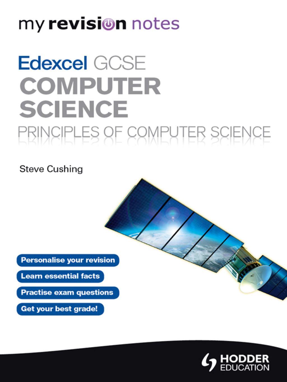 My Revision Notes Edexcel GCSE Computer Science (eBook) in