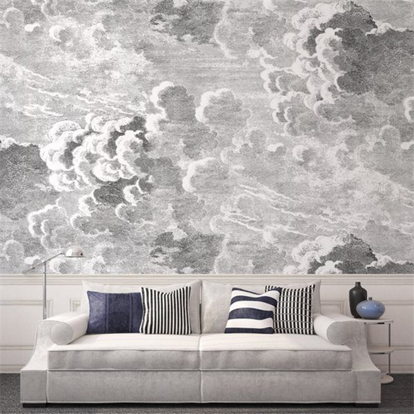 Panneau Nuvole | Fornasetti Wallpaper, Wallpaper And Narrow House
