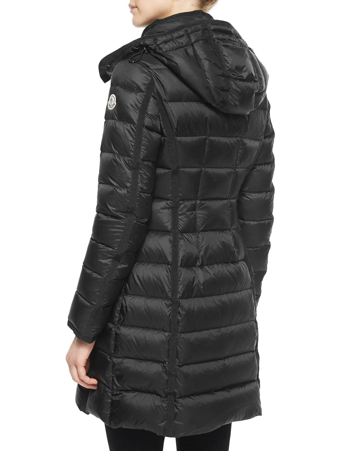 c8ae1a418 Moncler Hermine Hooded Long Puffer Coat | Oh Those Beautiful Girls ...