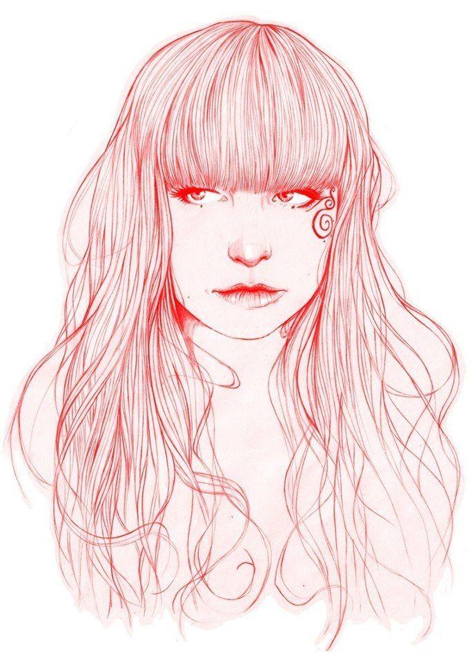 Miss Led Illustration