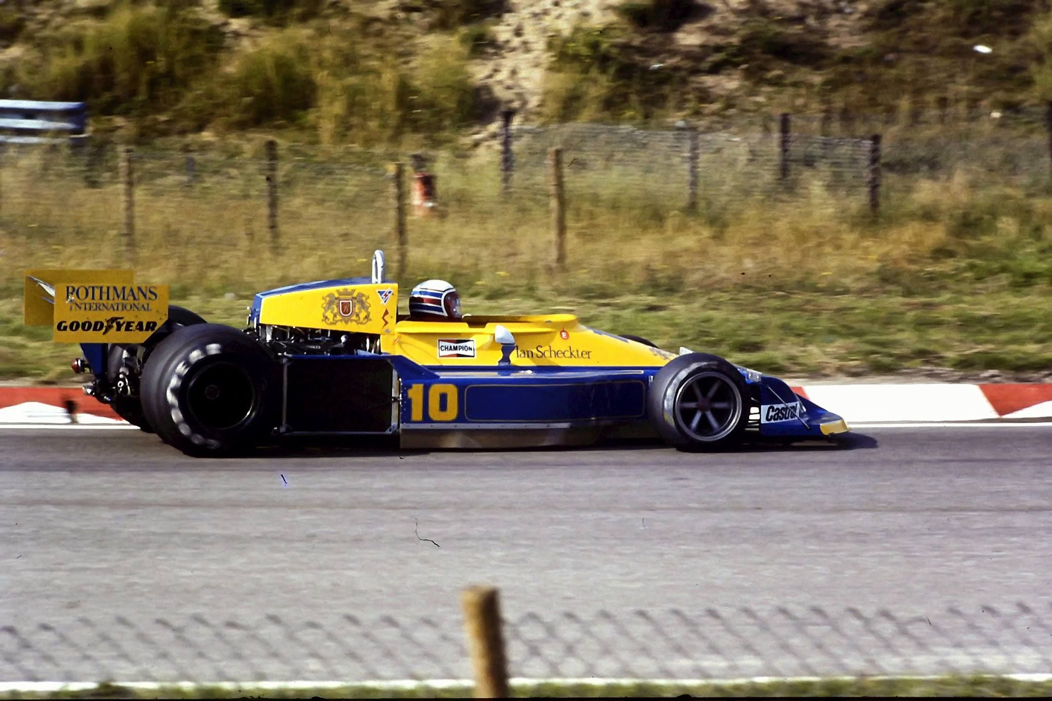 Facebook F1 drivers, Racing, South african
