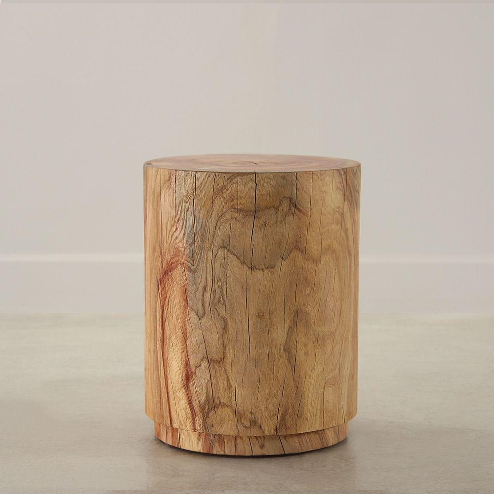 Minimo Turned Wood Table Wood Turning Side Table Wood Wood End