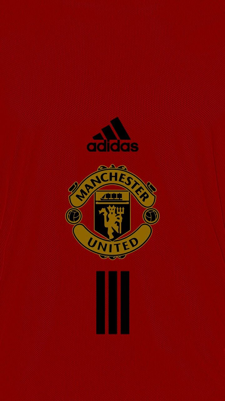 Man Utd Sepak Bola Desain Logo