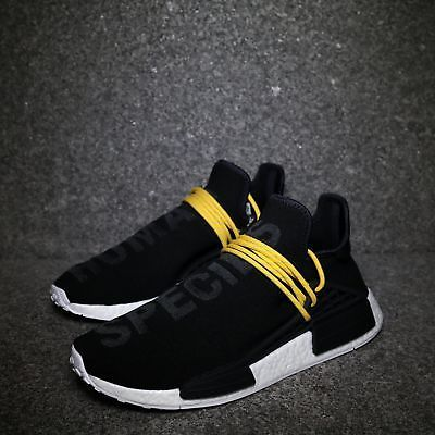 Pharrell X Nmd Human Race Black Yellow White Human Race Shoes