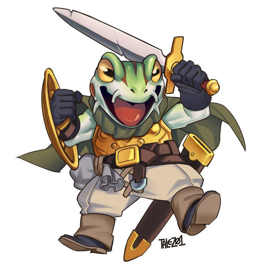 Frog Chrono Trigger Chrono Trigger Character Design Character Design References