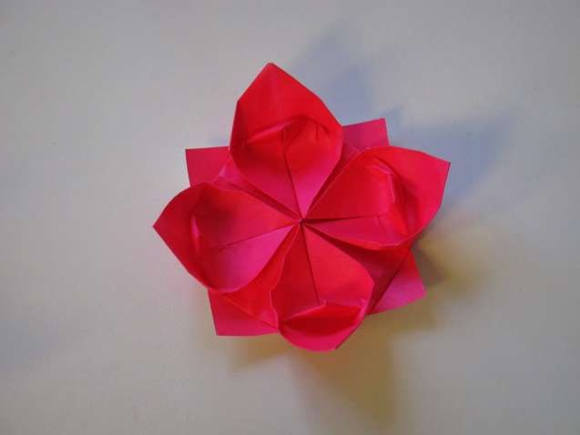 Beautiful origami flower lily step by step best photos for world origami flower lily step by step beautiful origami flower lily step by step origami how to make a lotus flower mightylinksfo