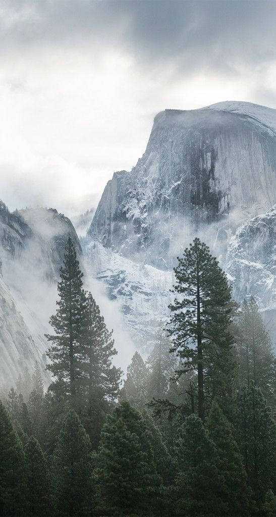 OS X Yosemite Dev Preview 6 wallpapers for iPhone iPad