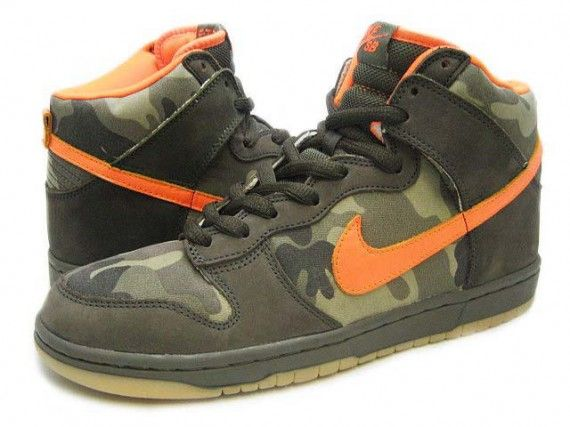 half off a0285 04393 Nike Dunk High Pro SB – Brian Anderson – Sable Green – Safety Orange