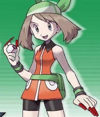 Pokemon Emerald Girl