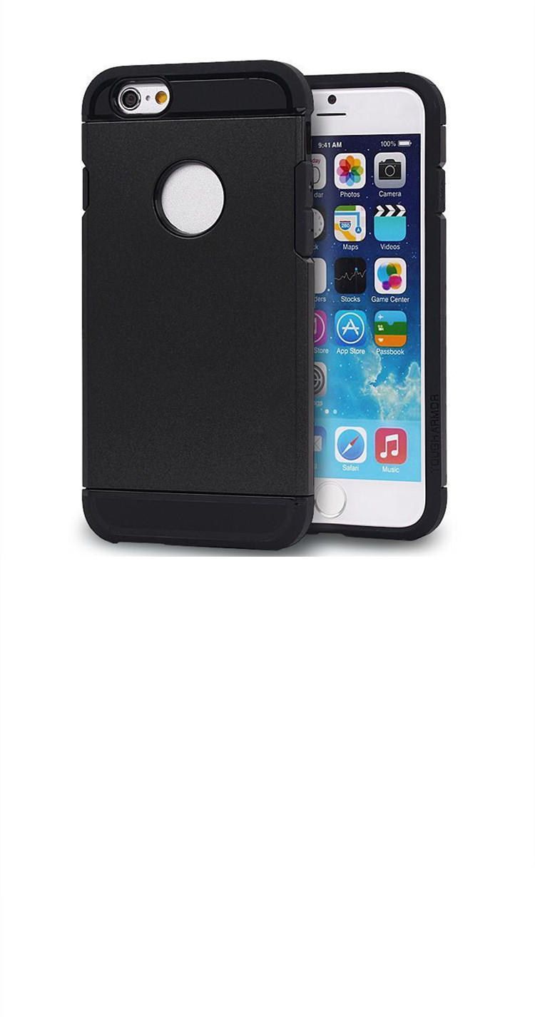 "Cell-Stuff iPhone 6 / 6s (4.7"") Dual Layer High Quality Slim Fitted Rugged Skin Cover Case"