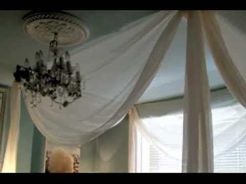 Die besten 25 faux canopy bed ideen auf pinterest - Baldachin fur kinderzimmer ...