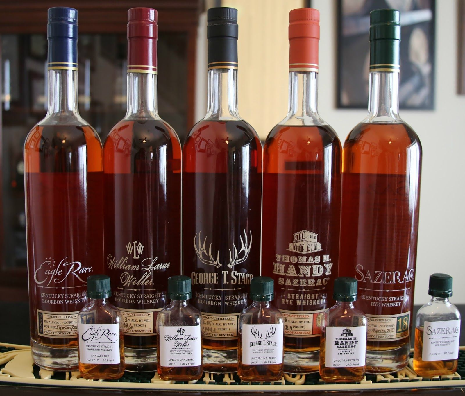 Buffalo Trace Antique Collection Bottles Fine Wine And Spirits Distilling Alcohol Distilled Spirit
