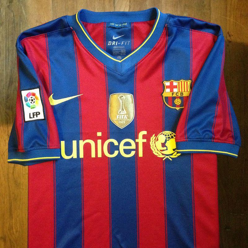 2009-2010 FC Barcelona Home Jersey    • Primera equipació del FC Barcelona  per 9feeef4d688