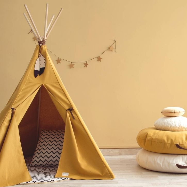 Mustard Yellow Teepee By Nobodinoz