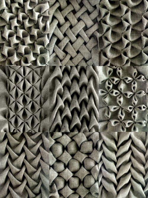 material faltung | Inspiration | Pinterest | Faltung, Material und Nähen